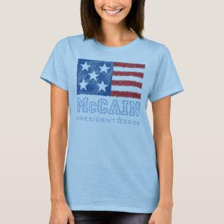 Camiseta de la bandera de McCAIN