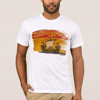 Camiseta de la bandera de Nuevo Brunswick