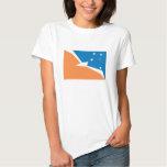 Camiseta de la bandera de Tierra del Fuego