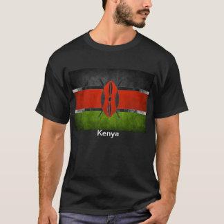 Camiseta de la bandera del Kenyan de la calidad de