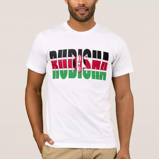 Camiseta de la bandera del Kenyan de Rudisha