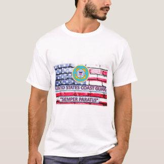 Camiseta de la bandera del lema de Semper Paratus