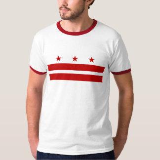 Camiseta de la bandera del Washington DC