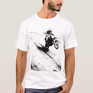 Camiseta de la bici de la suciedad