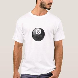 Camiseta de la bola de la edición ocho de Camo