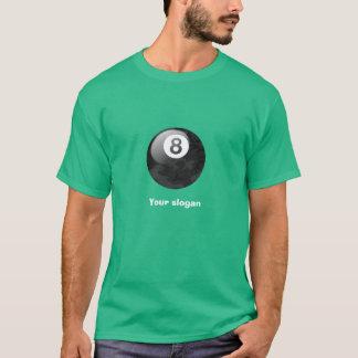 Camiseta de la bola de la edición ocho de Camo con