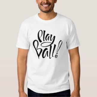 Camiseta de la bola del juego