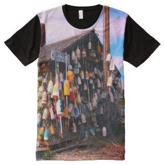camiseta de la boya de la langosta de Maine