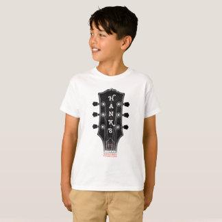 Camiseta de la cabeza de la guitarra de Hank