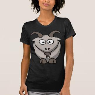 Camiseta de la cabra del dibujo animado