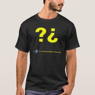Camiseta de la caja del misterio del zombi