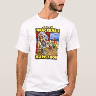 Camiseta de la calidad de la tienda de Vape de Alá
