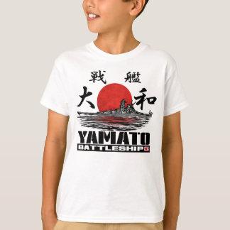 Camiseta de la camiseta de Yamato del acorazado