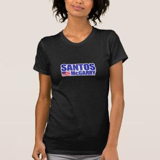 Camiseta de la campaña de Santos McGarry