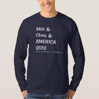 Camiseta de la campaña del MITÓN y de CHRIS y de