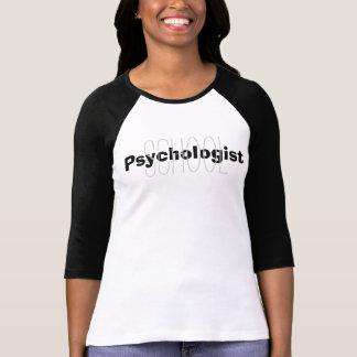 Camiseta de la capa del psicólogo de la escuela