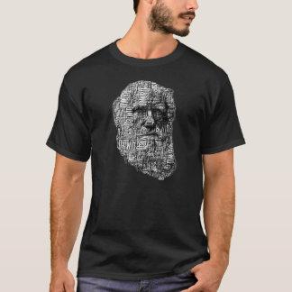 Camiseta de la cara de la palabra de Charles