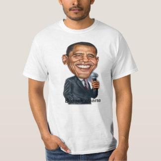 camiseta de la caricatura de Barack Obama