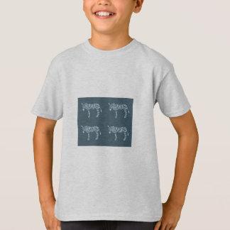 Camiseta de la cebra