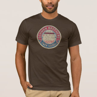 Camiseta de la cerveza dorada de los hermanos de