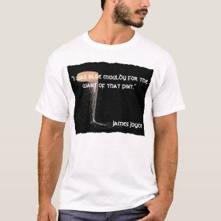 Camiseta de la cita de James Joyce