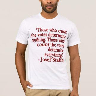Camiseta de la cita de José Stalin