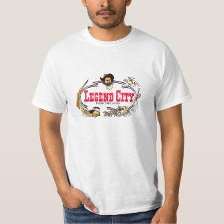 Camiseta de la ciudad de la leyenda