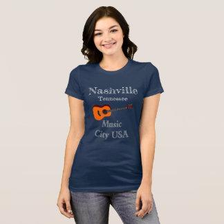 Camiseta de la ciudad de la música de Nashville