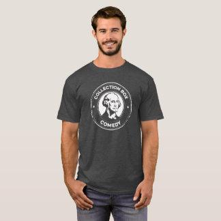Camiseta de la comedia de la caja de la colección