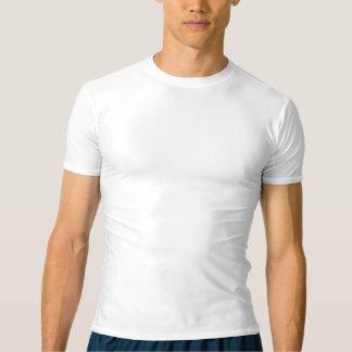 Camiseta de la compresión del funcionamiento de