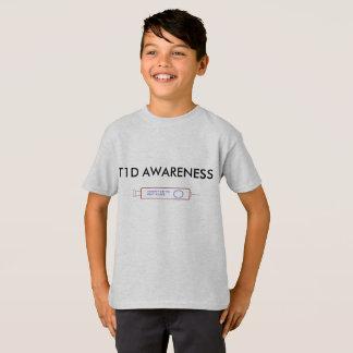Camiseta de la conciencia de T1D