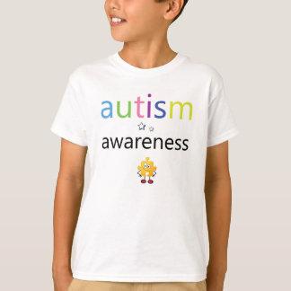 Camiseta de la conciencia del autismo de los niños