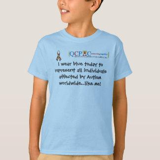 Camiseta de la conciencia del autismo del mundo