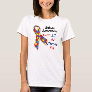 Camiseta de la conciencia del autismo hasta todos
