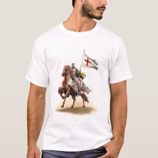 Camiseta de la cruz de Jerusalén del cruzado del