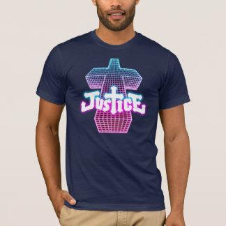 Camiseta de la cruz de la justicia
