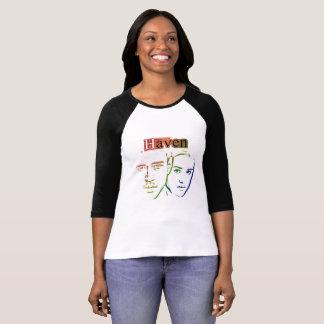 Camiseta de la cubierta del asilo del arco iris