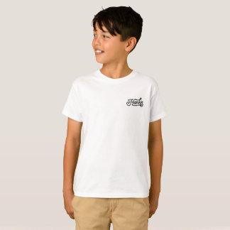 Camiseta de la cuerda de Hank (niños) en blanco