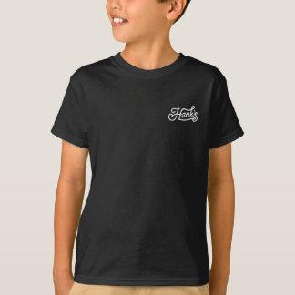 Camiseta de la cuerda de Hank (niños) en negro