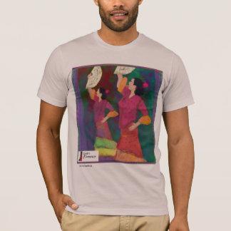 Camiseta de la danza del español del flamenco de