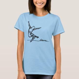 Camiseta de la danza moderna (cabida)