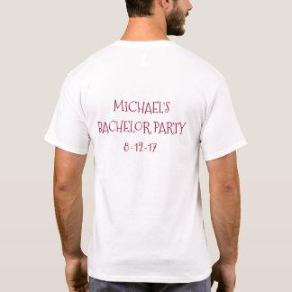 Camiseta de la despedida de soltero del baile de