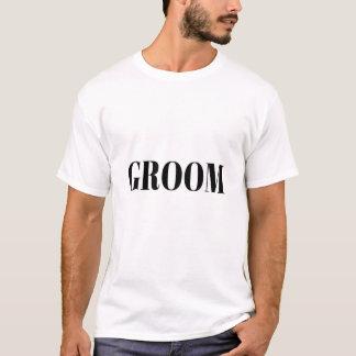 Camiseta de la despedida de soltero del novio