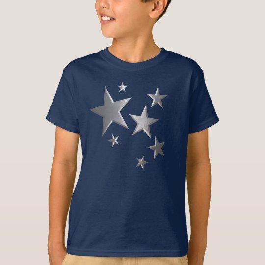 Camiseta de la diversión de la estrella de la