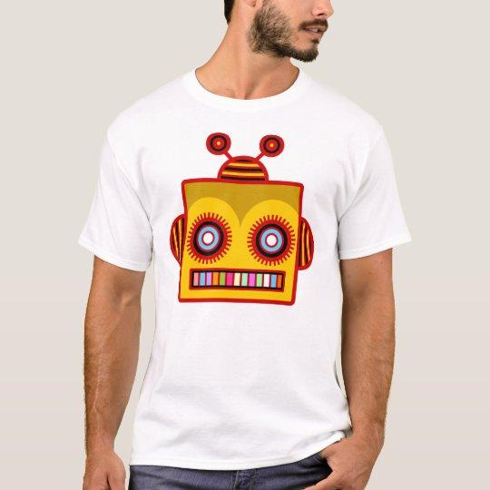 Camiseta de la diversión del robot de la abeja