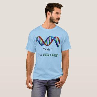 Camiseta de la DNA del biólogo