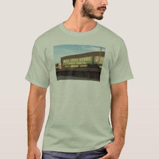 camiseta de la droga de la pared