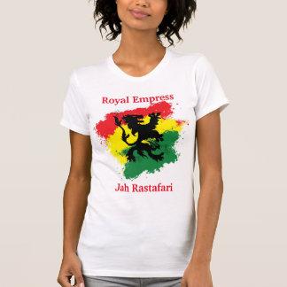 Camiseta de la emperatriz de Rasta
