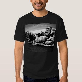 Camiseta de la escena de Dakota del Sur B/W