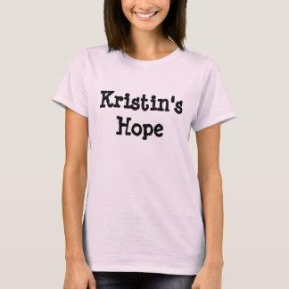 Camiseta de la ESPERANZA de KRISTIN